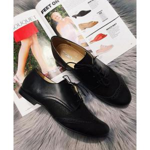 Dámske kožené topánky