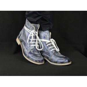 Kožené prechodné topánky