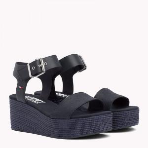 Dámske kožené sandále Tommy Hilfiger