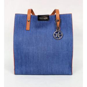 Jeansová dámska kabelka