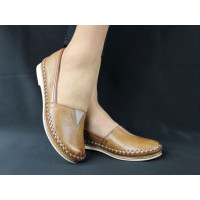 Pohodlné kožené topánky