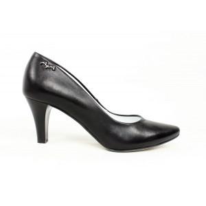 Elegantné čierne lodičky 417