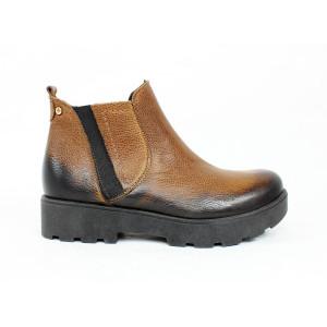 Zimné kožené topánky 2096
