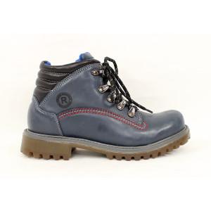 Hrubé zimné topánky na viazanie 3912