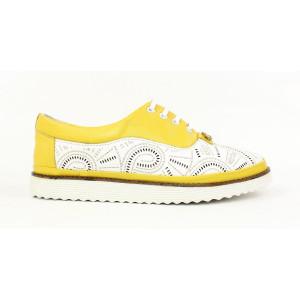 Ľahké kožené topánky 17 10261