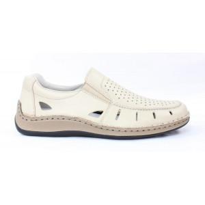Kožená obuv Rieker 17 10093
