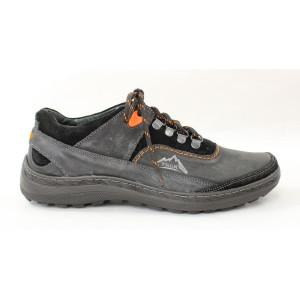 Kožené trekové topánky 17 10099