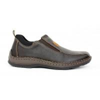 Kožená obuv Rieker 17 10550
