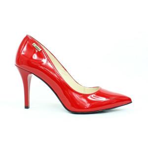 Elegantné lodičky - červené 17 40640