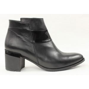 Elegantné kožené topánky 22059