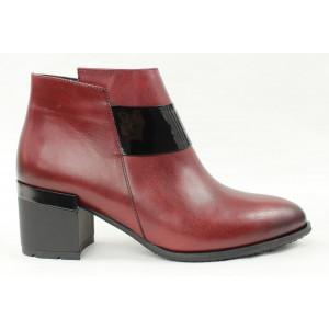 Elegantné kožené topánky 22058