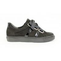 1a2ccc1342c9 Šnurovacie topánky z brúsenej kože 17 10559