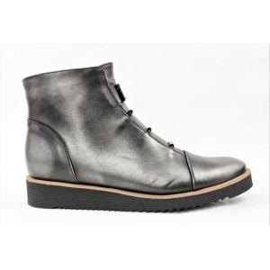 Topánky so striebornými doplnkami 7503