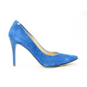 Elegantné lodičky - modré 17 10176