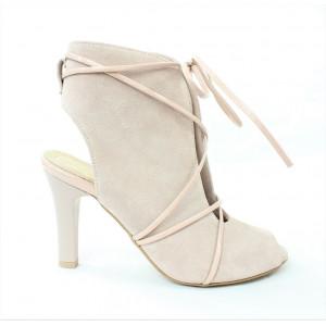 Elegantné kožené sandále 17 50014
