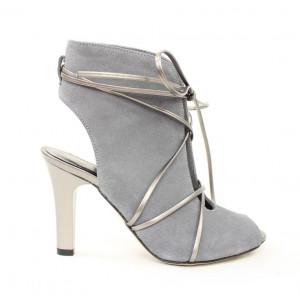 Elegantné kožené sandále 17 10180