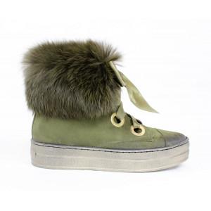 Topánky s kožušinkou 17 40699