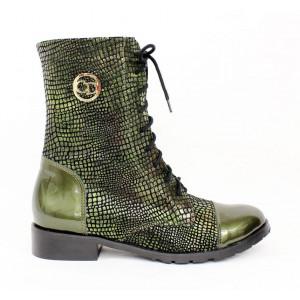 Zelené topánky so vzorom 17 40897