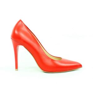 Elegantné lodičky - červené 17 10749