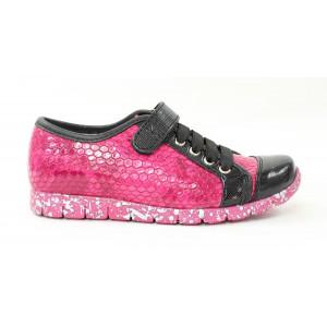 Dievčenské gumičkové topánky Kornecki -  menšie veľkosti