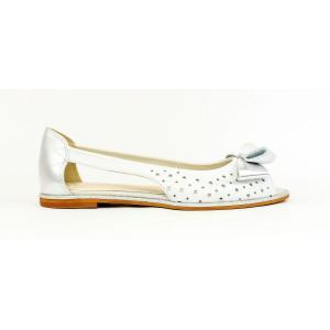 Elegantné sandálky s mašličkou 17 10395
