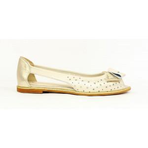Elegantné sandálky s mašličkou 17 10394