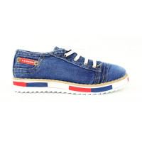 Jeansové dámske topánky 17 10546