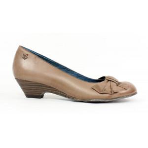 Kožené topánky na klinovom podpätku Caprice 10131 č.36,37,38