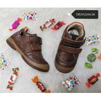 Chlapčenské kožené topánky D.D. Step