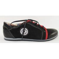 Čierne športové topánky 9242