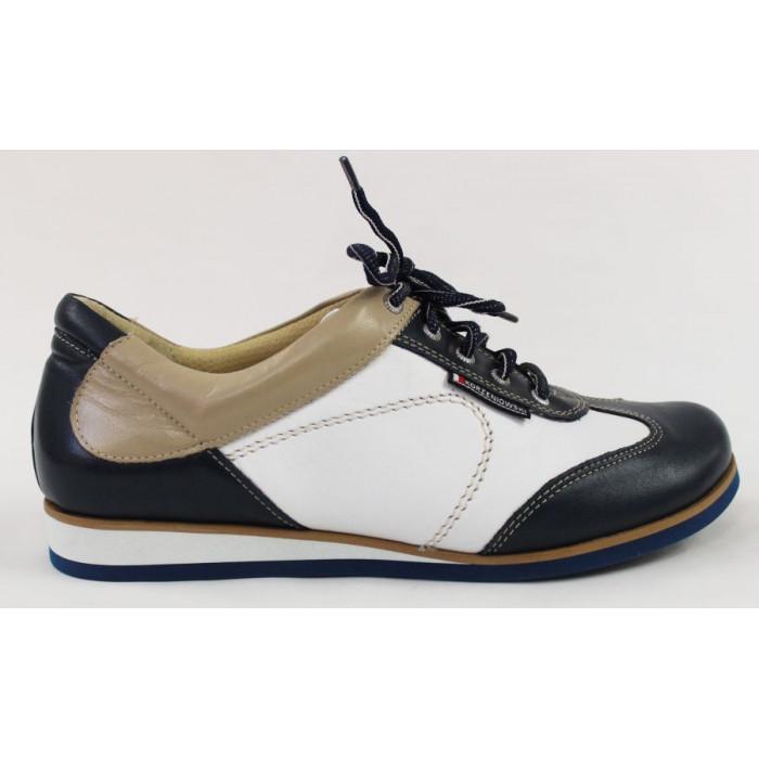 854e43406e Dámske bielo-modré športové topánky 9615