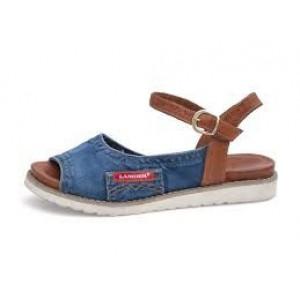 Jeansové dámske sandále LANQIER