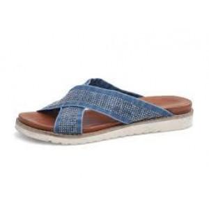 Jeansové dámske šľapky LANQIER