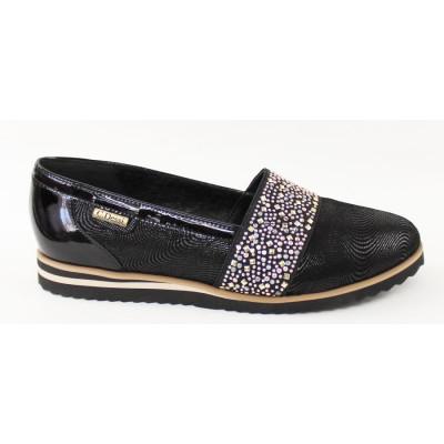 Čierne prechodné topánky 3336
