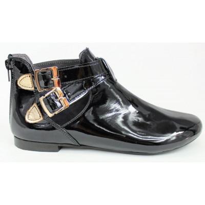 Dámska lakovaná obuv 5855