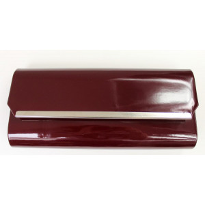 Listová kabelka bordová 3909