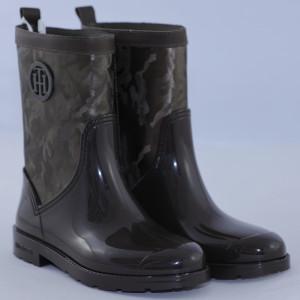 Tommy  Hilfiger - Vysoké topánky, čižmy