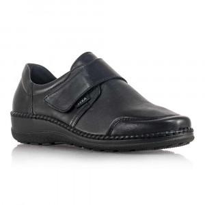 Dámske kožené topánky Axel čierne