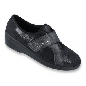 Dámska obuv HELA  v čiernej farbe