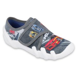Detské papuče skate šedé
