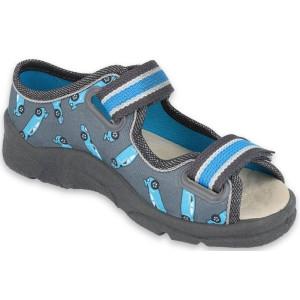 Chlapčenské sandálky-detské papuče Max