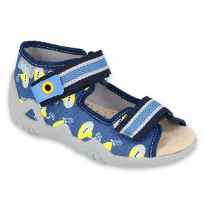 chlapčenské papuče - sandálky Snake