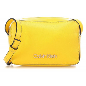 Calvin Klein žltá malá crossbody kabelka