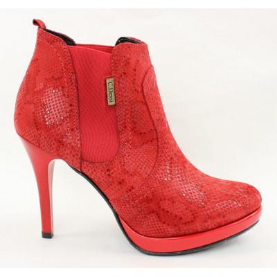 Červené topánky 7450