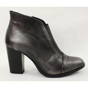 Vyteplené topánky na podpätku 6892