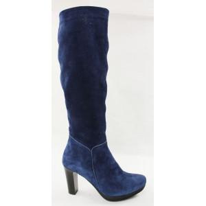 Elegantné modré čižmy 3177