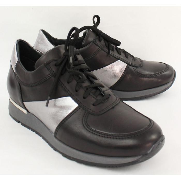 47580d1e2 Výrazné topánky so strieborným doplnkom 6877