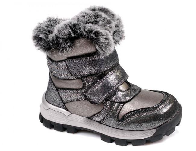 Detské dievčenské zimné topánky