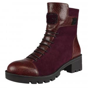 Členkové topánky bordové EPICA