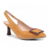 Dámske kožené sandále HISPANITAS